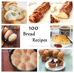 100 Bread Recipes - Roxana& Home Baking Fresh Bread, Sweet Bread, Donuts, Pain Pizza, Bread Recipes, Cooking Recipes, Rolls Recipe, Dinner Rolls, Challah