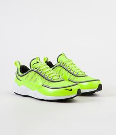 b88b70a4c889 Nike Air Zoom Spiridon  16 Shoes - Volt   Volt Tint - White - Black