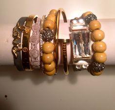 Bohomian Hippie free spirit arm candy bracelet set by JAJewlz, $75.00