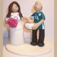 Rugby topper (c) http://www.totallytoppers.com/my-work/sport-wedding-cake-toppers/