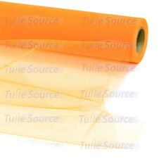 Shrimp Orange Tulle Fabric – Tulle Source. This can be used with Ivory Tulle to dress up the inside of the shelter