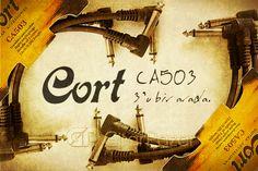 Cort CA503 fiyat/performans canavarı 3x15 cm pedal ara kablo.