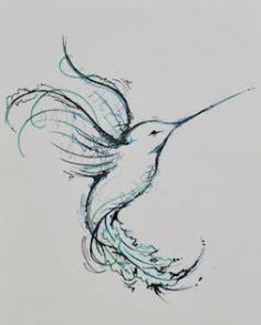Hummingbird Tattoo Idea