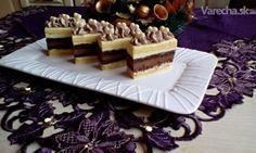 Vianočné čokoládové rezy s orieškami (fotorecept) Tiramisu, Deserts, Treats, Ethnic Recipes, Sweet, Food, Cakes, Hampers, Sweet Like Candy