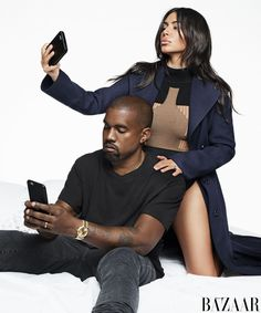 Kim Kardashian West and Kanye West star as BAZAAR Icons in the September issue for 2016. See their full fashion shoot, shot by Karl Lagerfeld, and read the interview here: