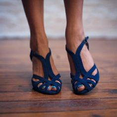 elegant yet summery, like the color but kitten heels are probably are inconvenient