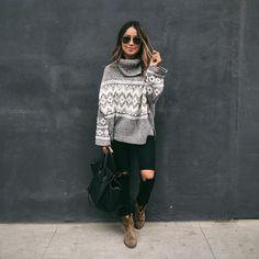 Winter Sweater. Pop Rocky