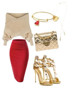 """V-Day Special"" by misharena-1 on Polyvore featuring WithChic and Chanel"