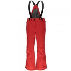Spyder Dare Tailored Pant Herren Skihose rot Kurzgröße #spyder #skibekleidung #outlet #sporthausmarquardt