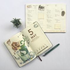 Bullet journal daily layout