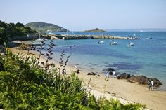 Fishermans Beach by Herm Island, via Flickr