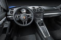 De nieuwe Porsche Cayman GT4. Zie meer op www.carrepublic.com