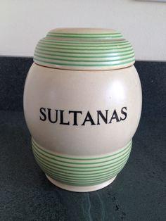 T.G. Green 'Streamline' Sultanas jar