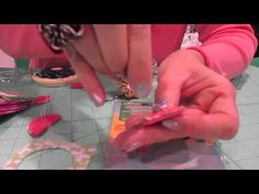 ▶ How to use the Kanzashi Round Extra Small Petal Flower Maker from Clover - USA - YouTube