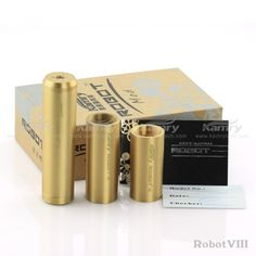 Robot 8 Mechanical mod with 3 size tube,kamry robot viii