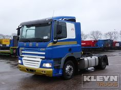 Used Tractor unit DAF CF 85.360 for sale!