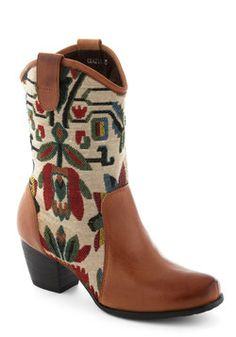 Tapestry Dance Boot, #ModCloth