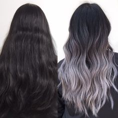 Swipe to see my client's first session (before and after is her 2nd session). ↔️ Patience is key when going grey/silver.  ✨@uberliss Bond Regenerator is a must when going lighter so your hair stays strong and protected! ✨#uberliss . . . . . . . #kycolor #ash #blonde #asian #hair #colorist #transformation #beforeandafter #colorcorrection #makeover #balayage #ombre #rooty #silverhair #metallic #lilac #grey #americansalon #behindthechair #imallaboutdahair #maneinterest #gijohair #modernsalon...