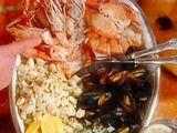 Seafood Appetizer in the Style of Venezia: Misto di Mare alla Veneziana