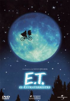 T el extraterrestre / Dir: Steven Spielberg. Peter Coyote, Dee Wallace, Henry Thomas, Retro Poster, Steven Spielberg, My Memory, Invite Your Friends, Good Times, Tv Series