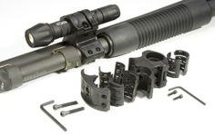 Elzetta Flashlight Mount for Tactical Shotgun