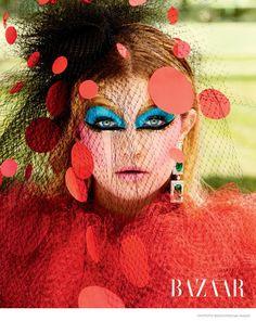 Gigi Hadid Wears Couture Style in Carine Roitfeld Shoot for Harper's Bazaar