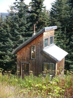 Cabin Loft Wood Small | LandsofAmerica.com - Sold Land near Homer, Alaska - Kenai Peninsula ...