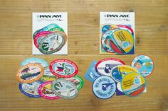 Traveler's Factory x Pan Am Sticker Set by niconecozakkaya on Etsy