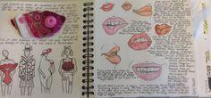 Textile sketchbook