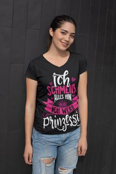 Princess T-shirt with funny saying gift idea wife girlfriend Control Alt Delete, New Darlings, Wife And Girlfriend, Pink Tone, Gifts For Wife, Your Best Friend, Girlfriends, Fun Stuff, Wedding Gifts