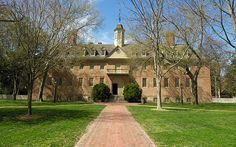 The Wren Building at The College of William and Mary in Willamsburg, Virginia. If you ever go to Dallas Baptist University, they have a womens' dorm modeled after this building.