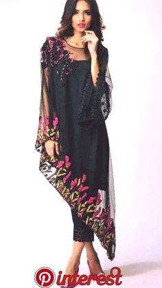 New Ideas Wedding Dresses Pakistani Pants Pakistani Dresses, Indian Dresses, Indian Outfits, Look Fashion, Hijab Fashion, Fashion Dresses, Winter Fashion, Spring Fashion, Fashion Tips