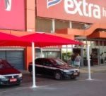coberturas sombreadores e toldos para estacionamento instalado hiper Extra Rio de janeiro 11 5891-0252