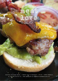 meat love | novedades en nuestra carta: hamburguesa de guacamole y chile jalapeño… ¡diferente y espectacular!