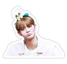 Circle stickers featuring millions of original designs created by independent artists. Printable Stickers, Cute Stickers, Jeonghan Seventeen, Jin Young, Kpop Fanart, Sticker Design, Got7, Fan Art, Entertaining