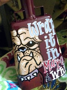 MISSISSIPPI STATE Hand Painted Custom by OnTheBrightSideArt