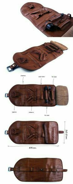 Tobacco and pipe holder