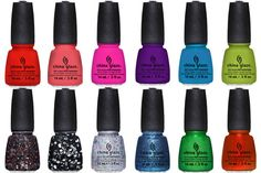Brighten up a winter manicure with these fun colors!
