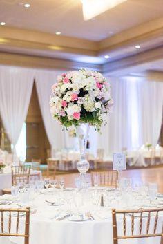 wedding centerpiece idea; photo: Martin Kim Photography