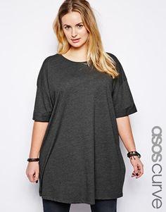 Enlarge ASOS CURVE Oversized T-Shirt