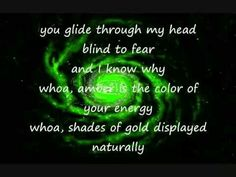 who sings amber is the color of your energy