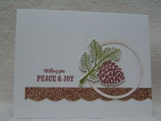 FS347 Peaceful Pinecone by suen - Cards and Paper Crafts at Splitcoaststampers