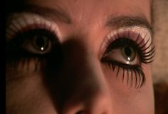 Magenta - Patricia Quinn of the (RHPS) Rocky Horror Picture Show - Makeup Detail