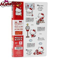 Hello-Kitty-Multifunction-6-pockets-File-Holder-Storage-Sanrio-Japan-Exclusive