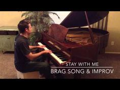 Stay with Me - Sam Smith VIDEO + FREE SHEET MUSIC. Jared Johnson performs the Piano Brag Song version followed by improv.