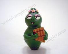 Figurine Barbapapa Barbalala with her flute - Plastoy - 2000 - EU$4,60