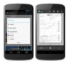 Google Drive Android App Updated With Scanner Functionality