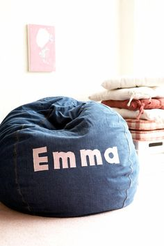 Personalized Bean Bag Chairs For Kids