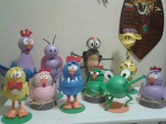 Personagens galinha pitadinha