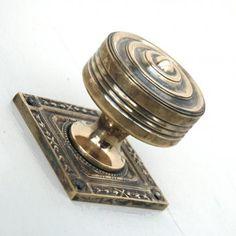 Small Octagonal Brass Door Pull | Materials & Hardware | Pinterest ...
